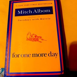 Other - For one more day novel by Mitch Albom